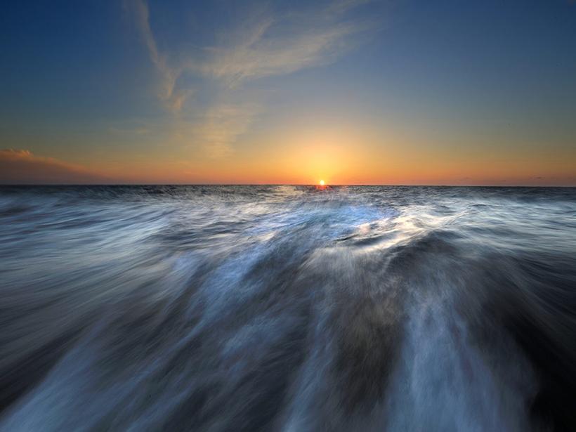 The western Pacific Ocean