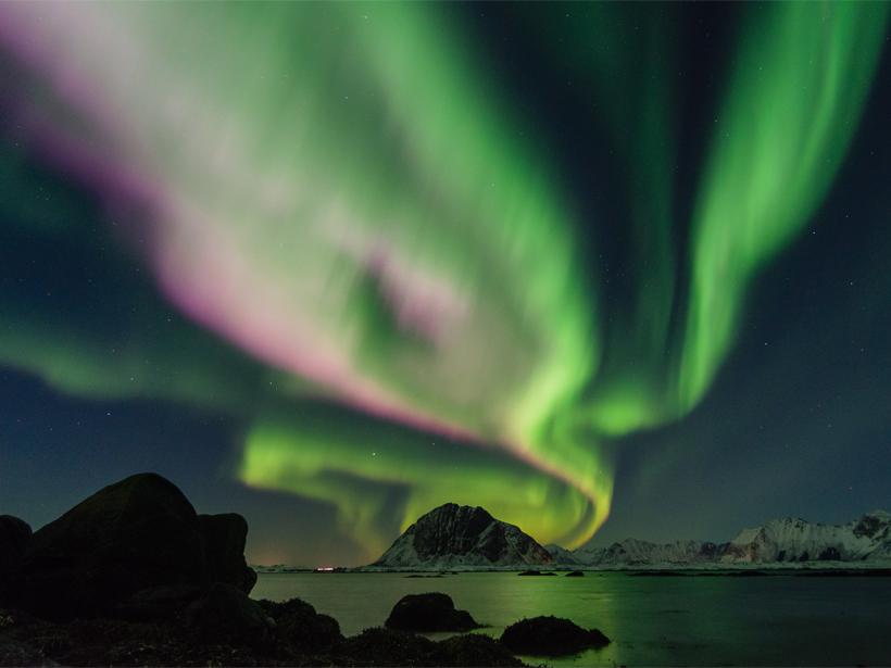 Aurora over Lofoten, Norway