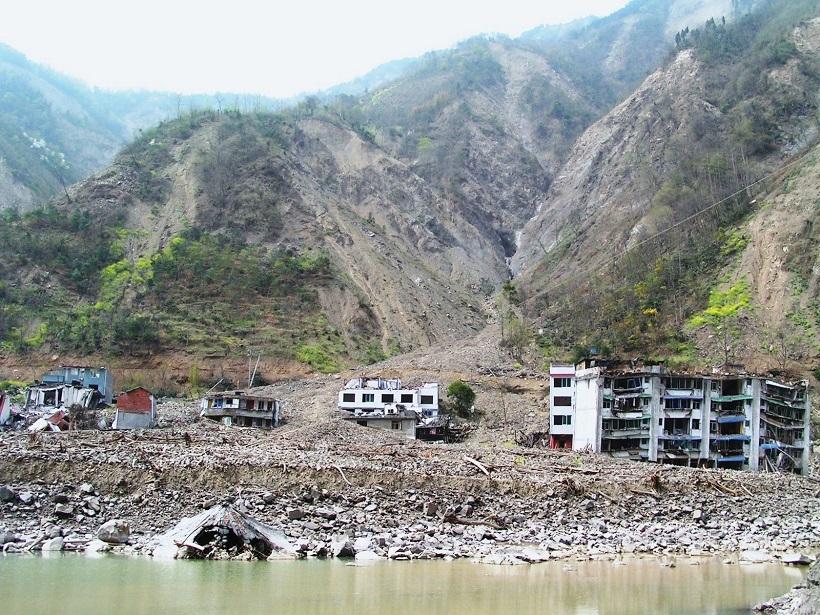 Landslides after 2008 Wenchuan earthquake