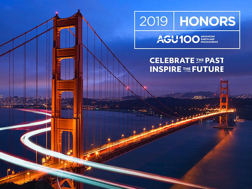 AGU honors logo 2019