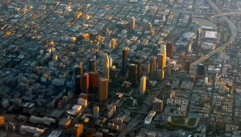 High population density, a potential for large earthquakes, and basins that amplify seismic waves put downtown Los Angeles at risk