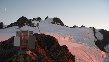 A continuously telemetered mountaintop GNSS station located on the Olympic Peninsula of Washington state