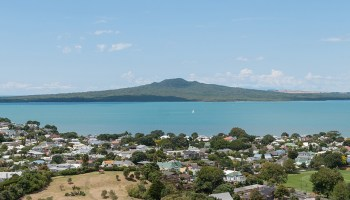 Rangitoto Island near Auckland, New Zealand