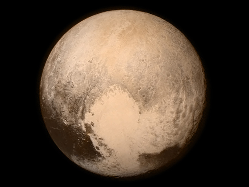 Image of Pluto from NASA's New Horizons flyby in July 2015