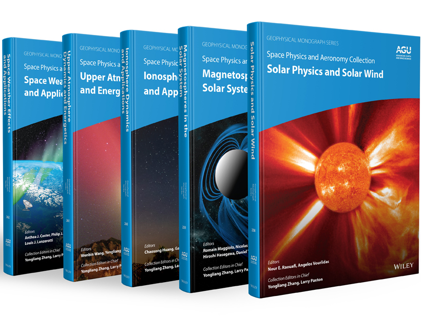 A picture of the Space Physics and Aeronomy five volume collection