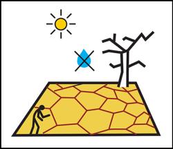 Drought geomoji