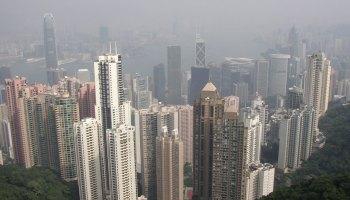 香港和维多利亚港