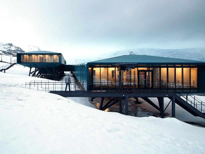 Project design of the Antarctic station Comandante Ferraz projected by Estúdio 41.