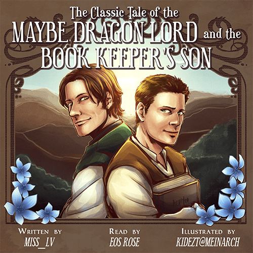 Cover image for The Classic Tale of the Maybe Dragon Lord and the Book Keeper's Son