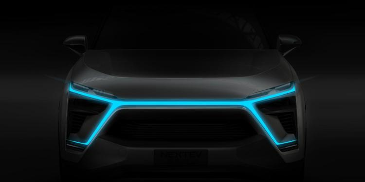 Nio ES8 electric car teaser