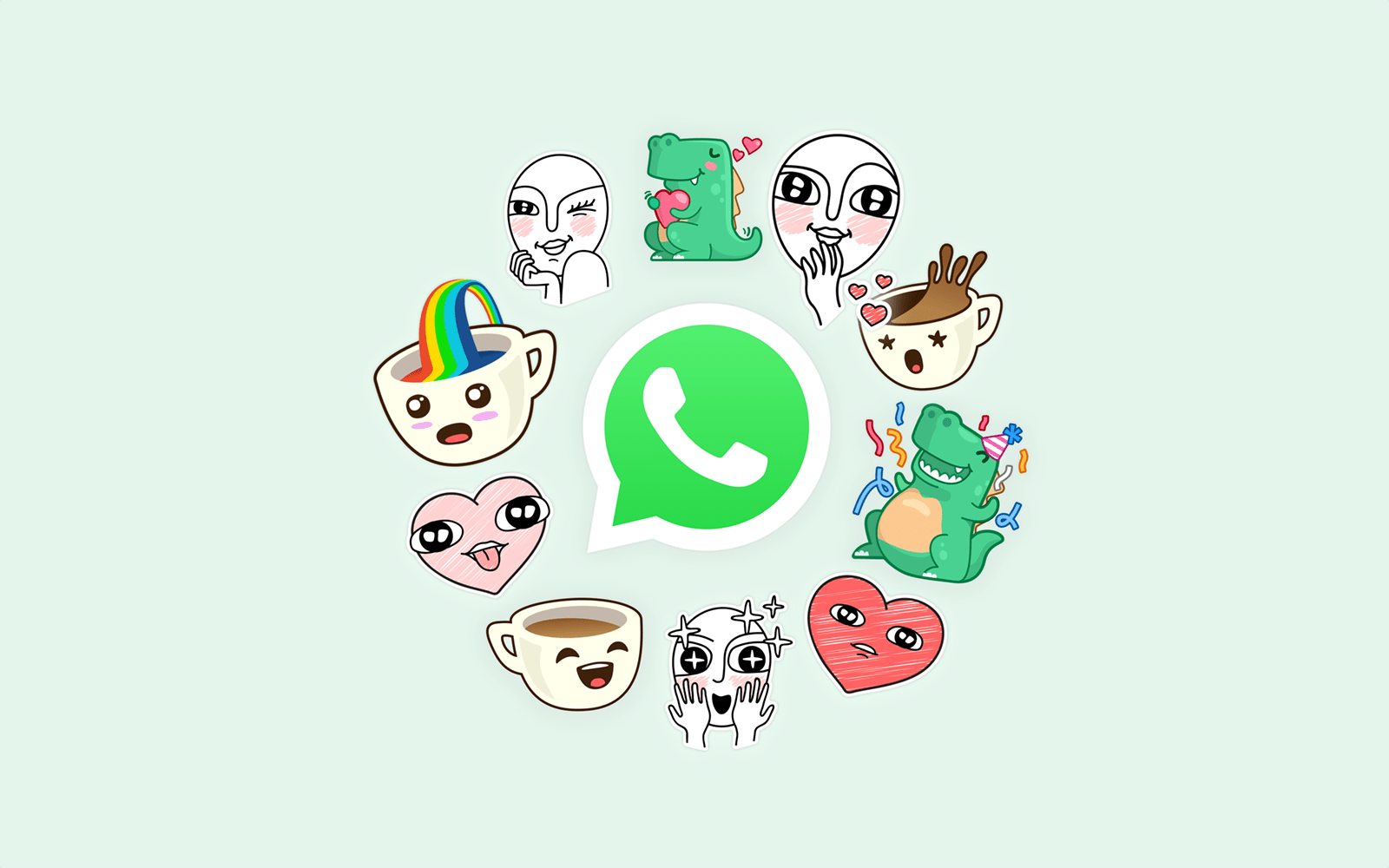 A comprehensive guide on how to get and make your own whatsapp stickers