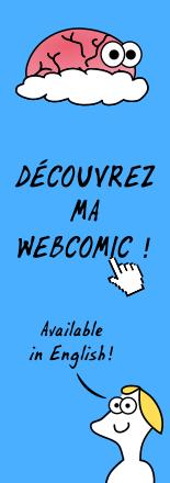 Découvrez ma webcomic!