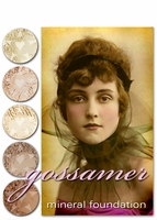 "25% OFF Weekly Sale through 11:59 PM PST 1/22!~ ""GOSSAMER"" Layerable Coverage Vegan Mineral Foundation  (based on Voile)- Now Available in IL/2L/3L!"