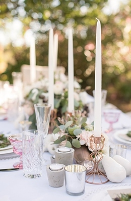 Ideas For Table Decorations Wedding Reception On With Photo 1