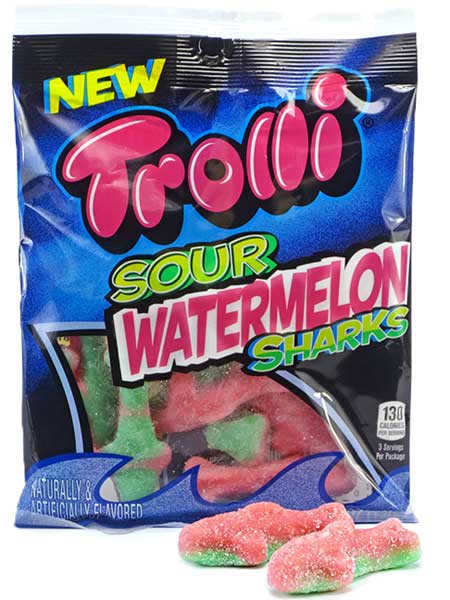 Trolli Sour Watermelon Sharks Review Claire Page