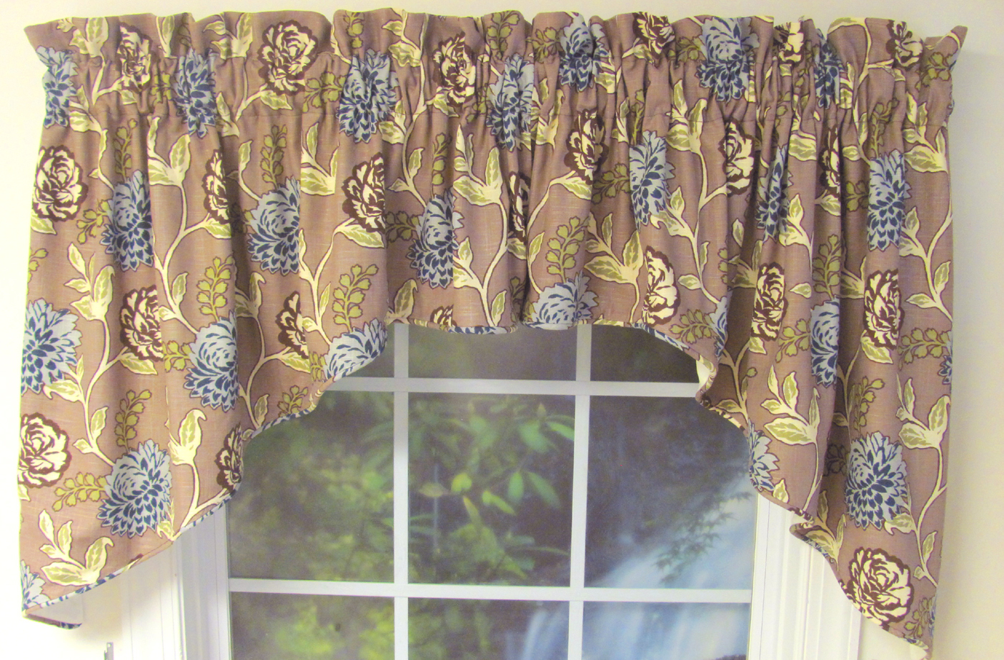 Corded Swag Valance