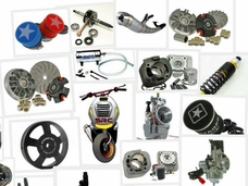Replacement Parts for electric scooters, gas scooters, ATV parts, Gokart parts, Dirt and Pocket