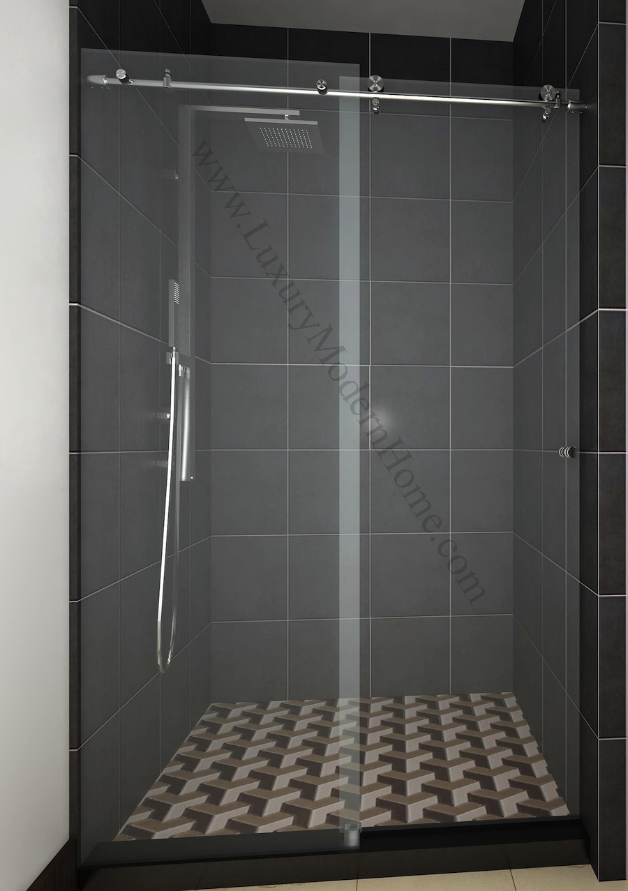 COLOGNE 2 CUSTOM Frameless Sliding Glass Shower Door