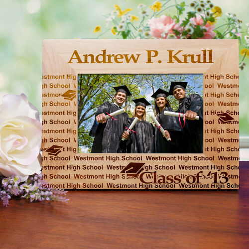 My Graduation Personalized Wooden Picture Frame ...