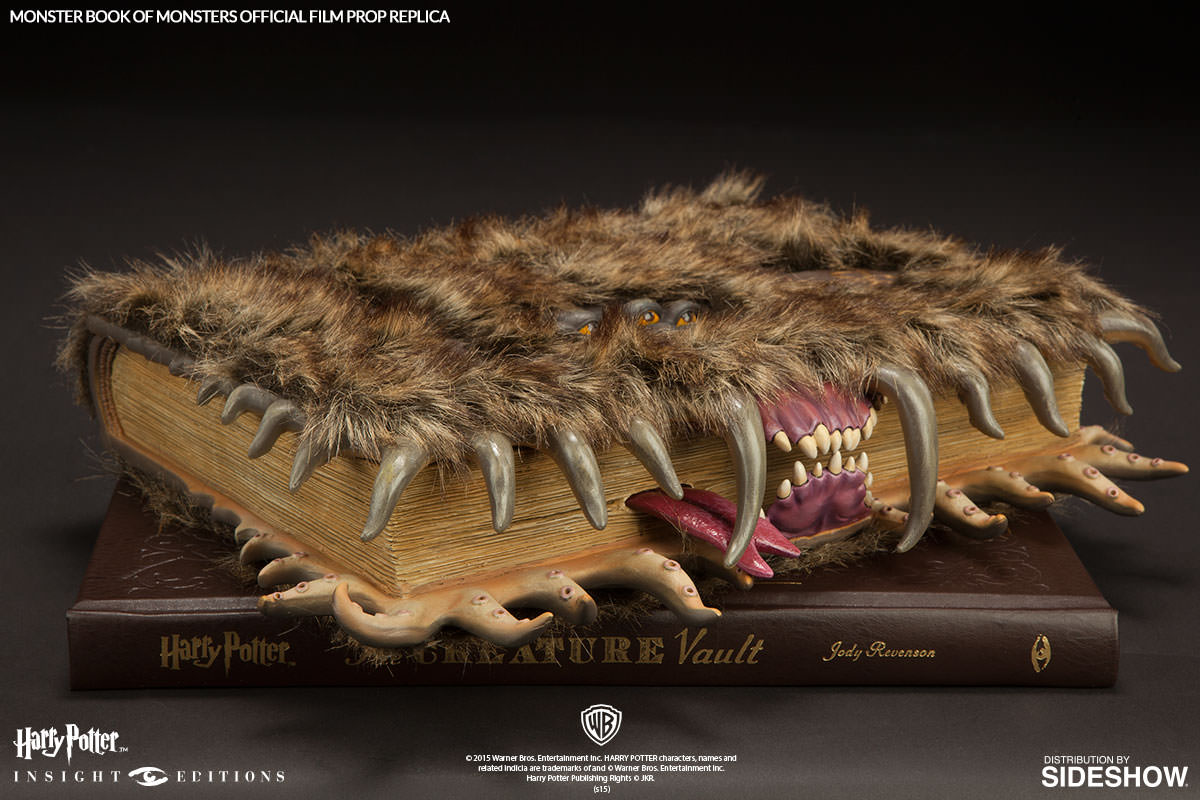 Monster Book of Monsters movie prop replica