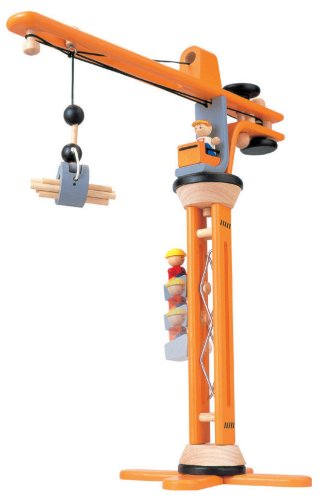Plan Toys Crane Set Free Shipping