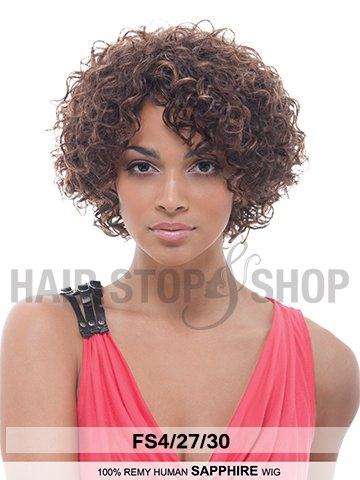 Janet Remy Human Hair Wig SAPPHIRE AFRICAN AMERICAN WIGS