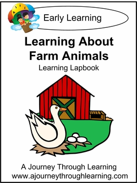 Learning about Farm Animals Lapbook