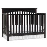 Graco Hayden 4 In 1 Convertible Crib In Cherry Free Shipping