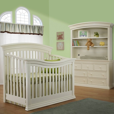 sorelle verona 3 nursery set 4 in 1 convertible on 3 Piece Nursery Set id=35144
