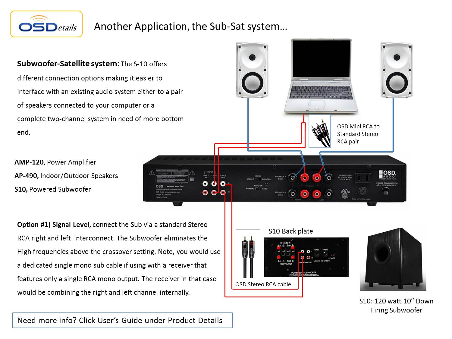 home theater subwoofer osd s 12 high powered 43?resize\=665%2C499 home amp wiring diagrams car audio amplifier wiring diagrams 2010 chrysler 300 radio wiring diagram at soozxer.org