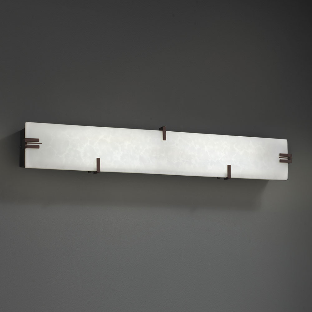 Justice Design CLD-8880 Clouds Modern LED Bathroom Sconce ... on Bathroom Wall Sconce Lighting id=77696
