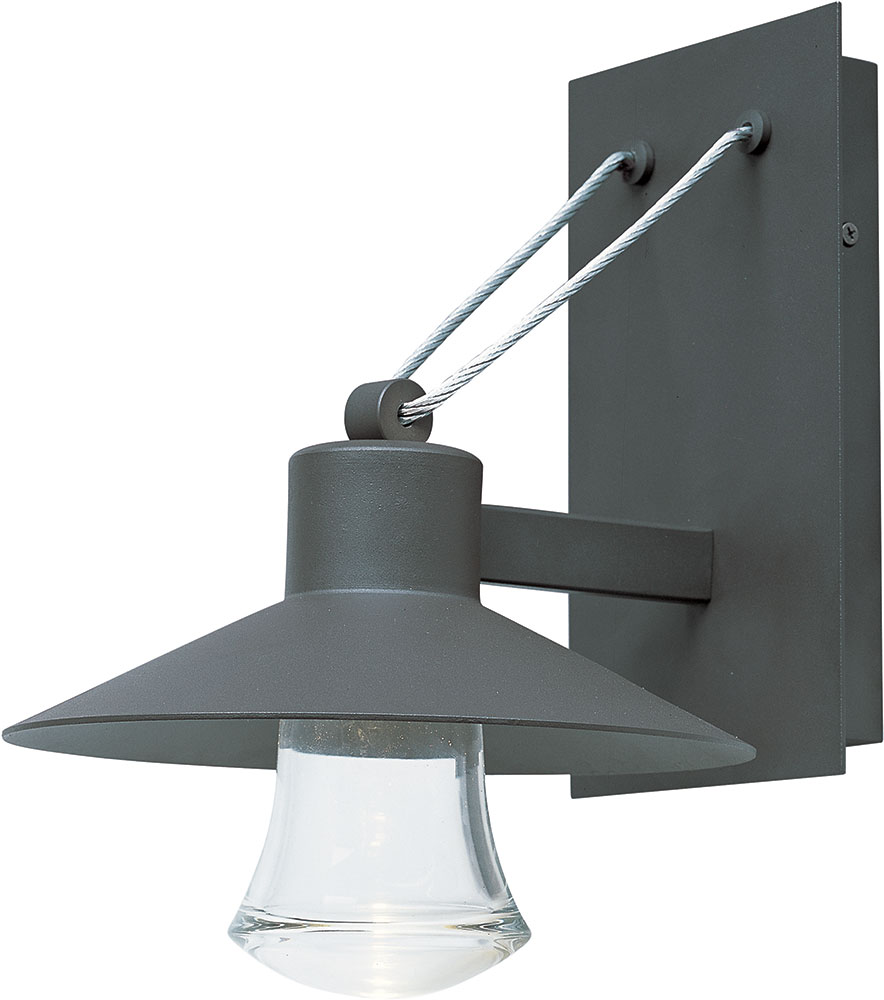 Maxim 54362CLABZ Civic Contemporary Architectural Bronze ... on Modern Outdoor Wall Sconce id=93296