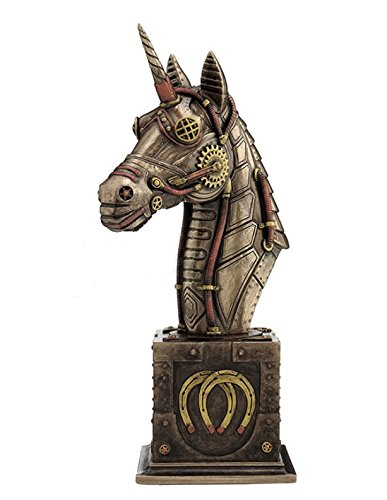 Steampunk Unicorn Bust Steampunk Gifts Amp Collectibles