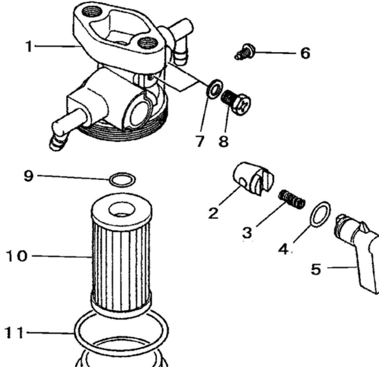 Fuel System Parts For Mahindra Tractor