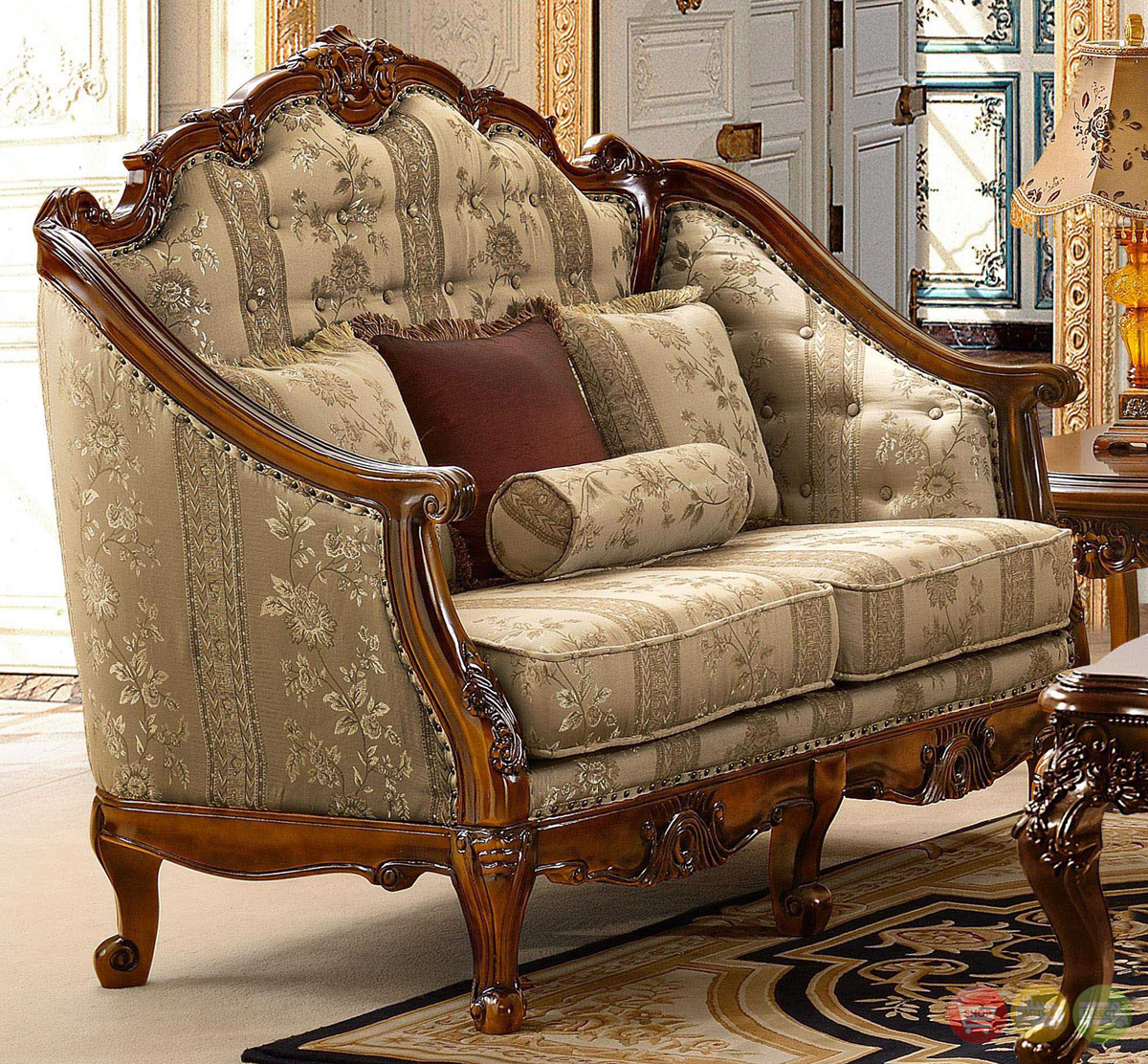 Antique Style Luxury Formal Living Room Furniture Set HD-953 on Furniture Style  id=95505