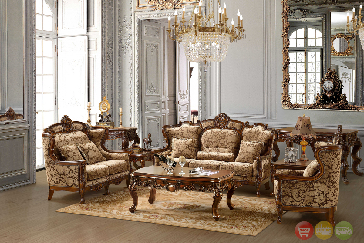 Luxurious Chenille Sofa and Loveseat Set HD-839 on Furniture Style  id=84773