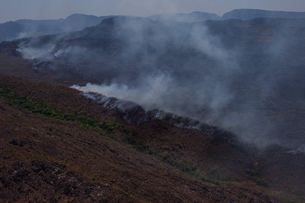 Até julho, quando o presidente Michel Temer aprovou o aumento de sua extensão, o Parque Nacional da Chapada dos Veadeiros tinha uma superfície de 65.000 hectares