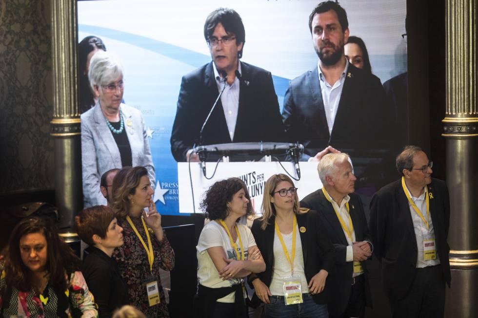 JxCat reivindica Puigdemont per maquillar el seu fracàs a Barcelona