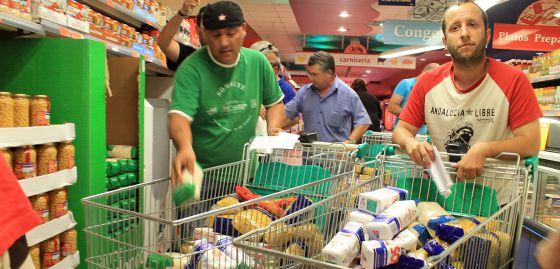Image result for asalto de supermercados podemos