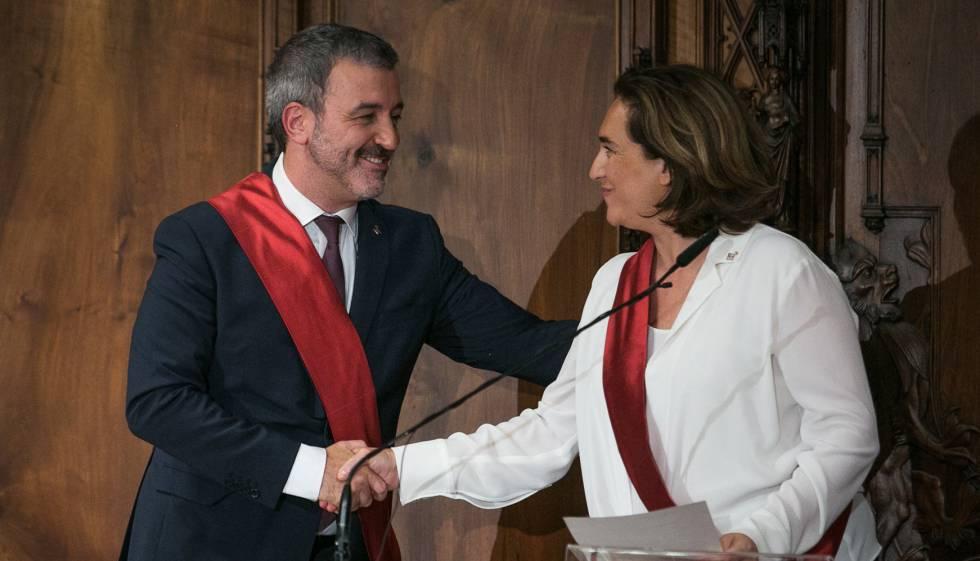 Colau i el PSC tanquen l'acord de govern per a Barcelona