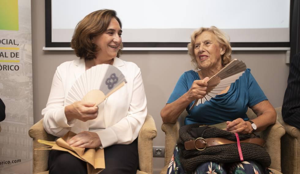 Carmena reivindica el paper de la societat civil