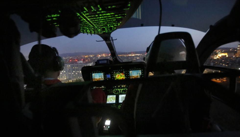 L'helicòpter nocturn del SEM efectua 177 serveis en el seu primer any