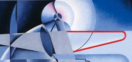 Osvaldo Peruzzi, 'Aeropittura', hacia 1934
