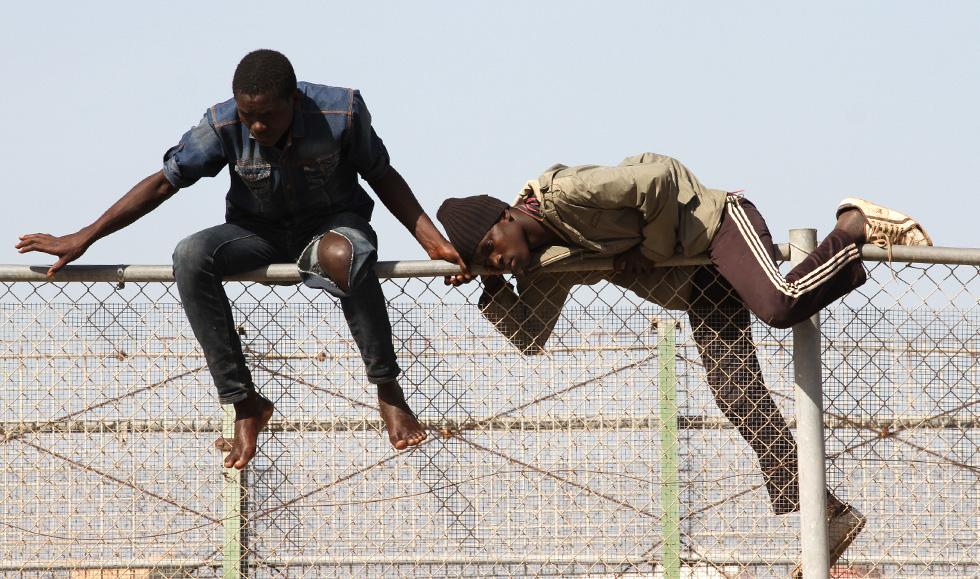 La inmigración es otra forma de manifestación de la pobreza y la carencia de Derechos Humanos
