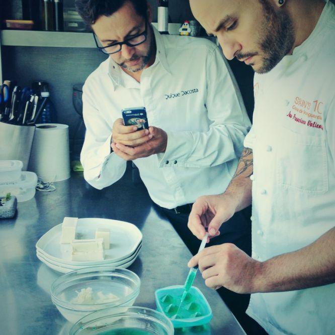 Cocineros tuiteros e instagramers