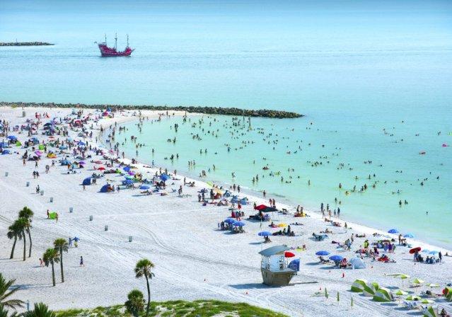 Os galardões do site de viagens são organizados em virtude da quantidade e a qualidade da avaliação dos viajantes ao longo do passado ano. As votações colocaram a Clearwater Beach, na Flórida (EUA), no sétimo local.