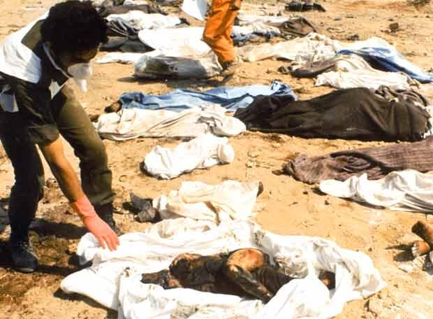 El 19 de septiembre de 1982 y después de tres días de un silencio total, los libaneses descubrieron horrorizados la matanza de esos civiles, algunos identificables, otros hinchados por el sol, apuñalados o destripados.
