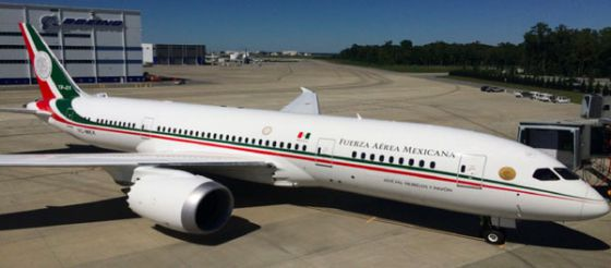 Resultado de imagen para se va el avión presidencial el lunes