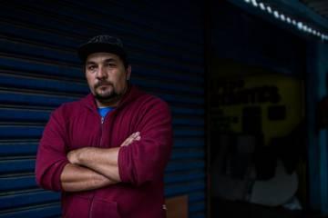 O comerciante Marcos Delila, que convenceu muitos vizinhos a votar em Doria.