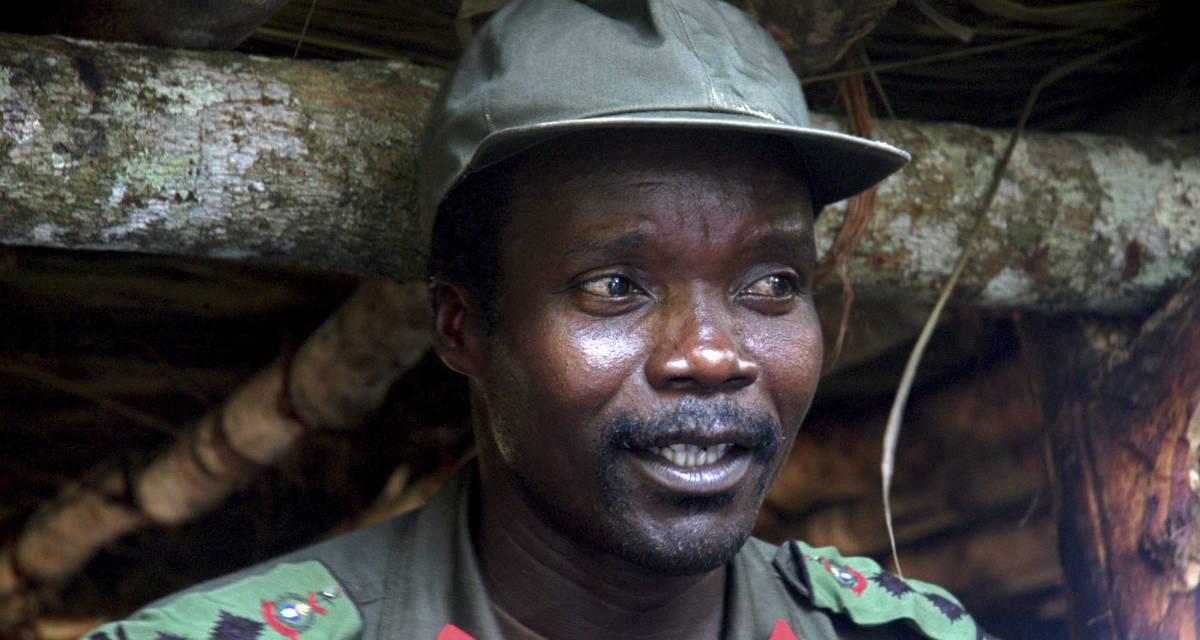 Joseph Kony, em 2006.